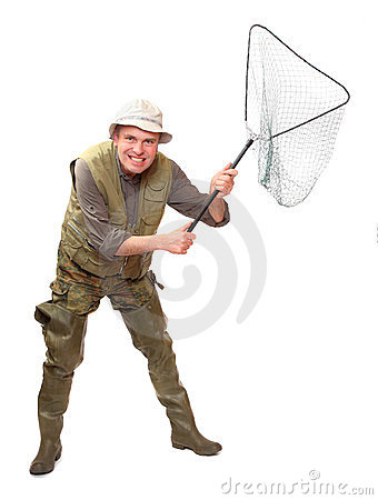 Funny fisherman.