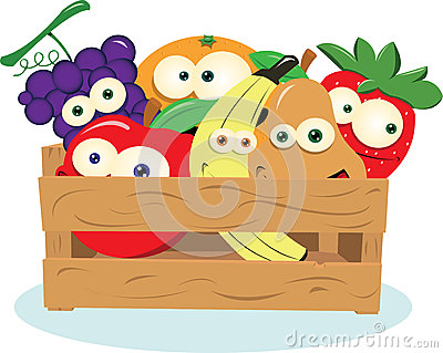 Funny Fruit in a Box