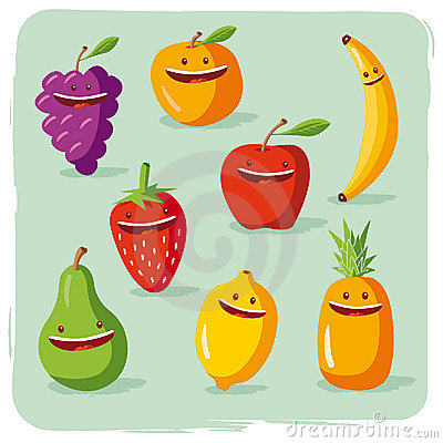 Funny Fruits Stock Photos - Image: 19583963