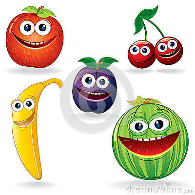 Funny Fruits B