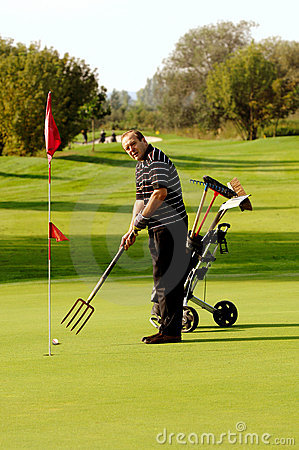 Funny Golfer