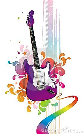 Free Funny Guitar Stock Image - 6306861