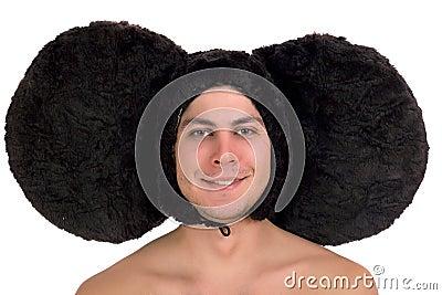 Funny guy with big ears