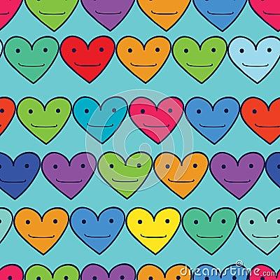 Free Funny Hearts Stock Image - 41091371