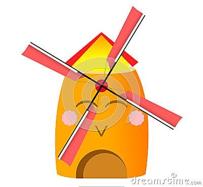Funny holland windmill