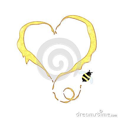 Funny honey concept