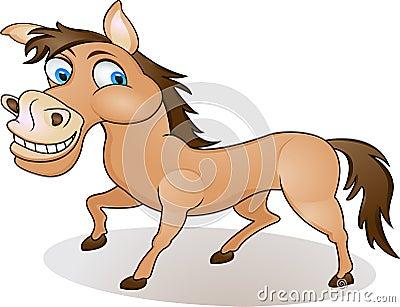 Horse Cartoon Funny Cartoon Horse Royalty