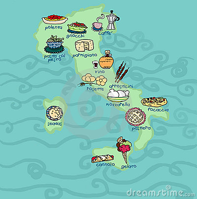 Images Of Italy Food. FUNNY ITALY FOOD MAP (click