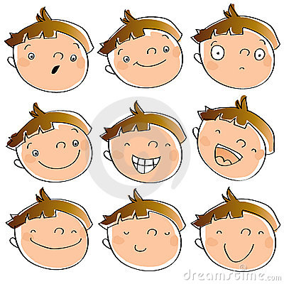 Funny kid s expressions