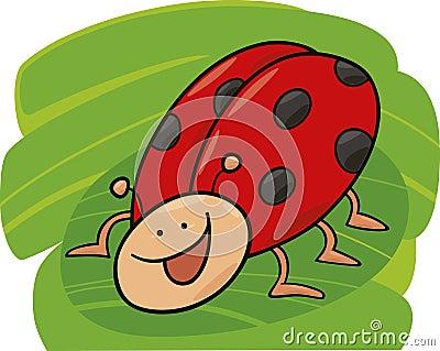 Funny ladybug