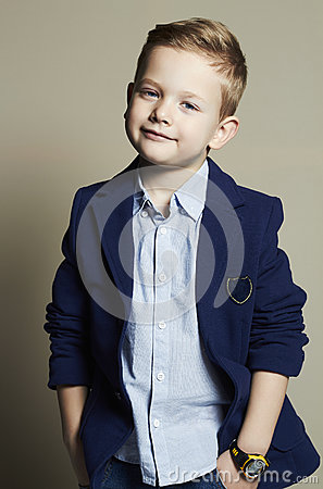 Free Funny Little Boy.stylish Child In Suit Royalty Free Stock Images - 52003339