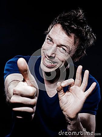Funny Man Portrait