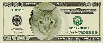 Funny Money (with clipping paths)