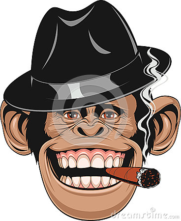 Free Funny Monkey In A Hat Royalty Free Stock Photography - 70947067