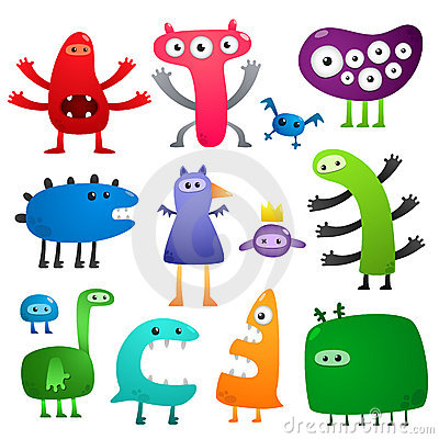 Free Funny Monsters Stock Photos - 17786393