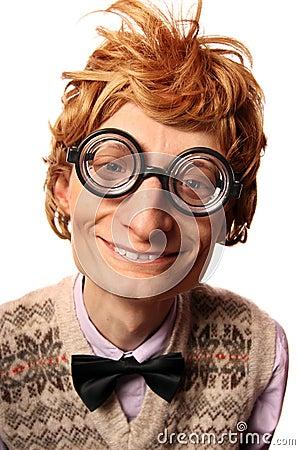 Funny nerd