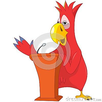 Funny Parrot. Presentation.