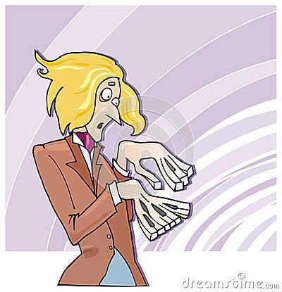 Funny pianist