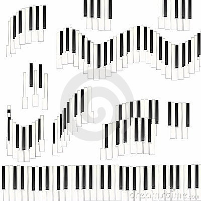 Funny Piano keys