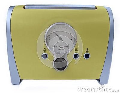 Funny retro toaster