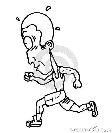 Funny running