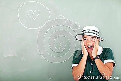 Funny schoolgirl love
