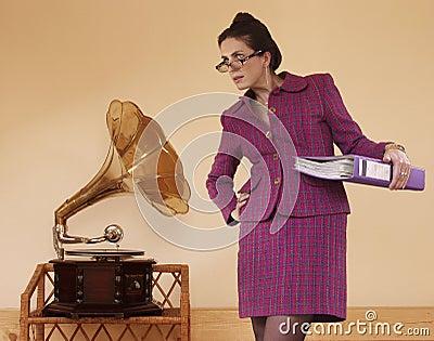 Funny secretary