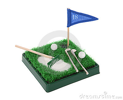 Funny Small Golf Set