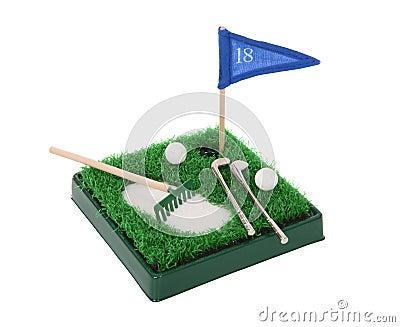 Funny Small Golf Set