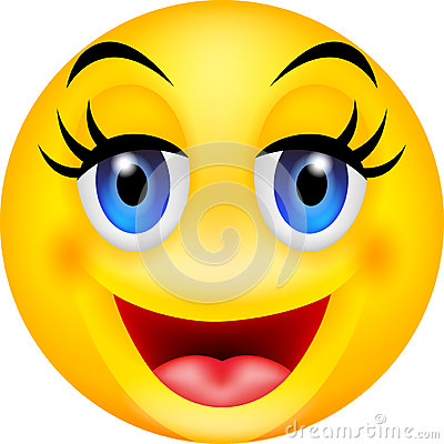 funny smile emoticon royalty free stock images   image