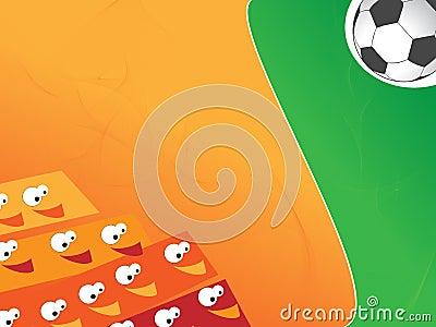 Funny Soccer background