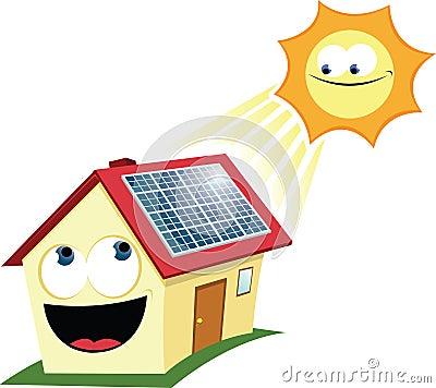 Funny Solar Panel