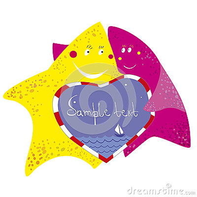 Funny starfishes