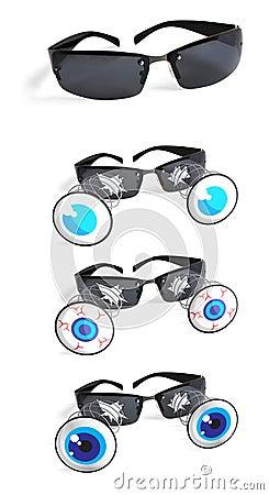 Funny sun glasses