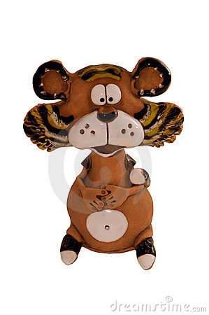 Free Funny Tiger Figurine Stock Image - 11470421