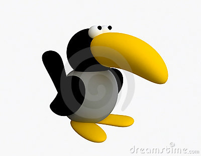 Funny Toy Crow