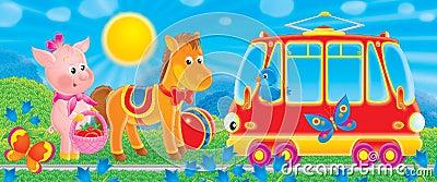 Funny Tram