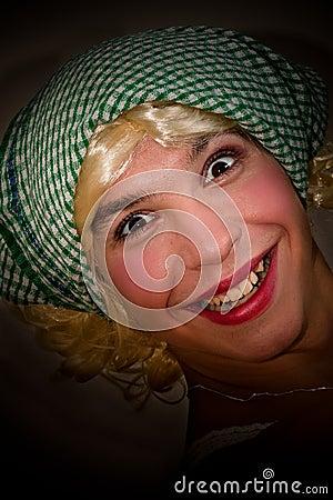 Funny transvestite