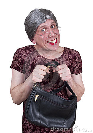 Funny Ugly Grandma, Granny, or Shy Maiden Aunt