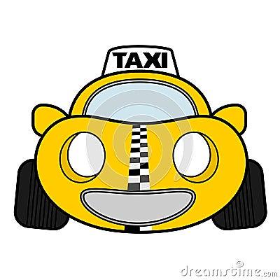 Funny urban taxi