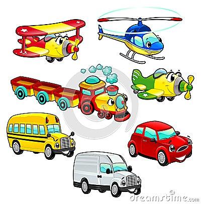 Free Funny Vehicles. Stock Image - 26603121