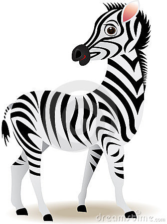 Funny Zebra Cartoon Stock Photos - Image: 23494483