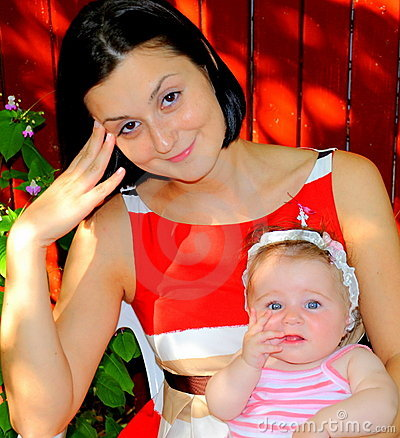 FUNtastic (mother and daughter portrait)