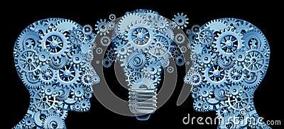 Funzionamento insieme in gruppo per innovazione
