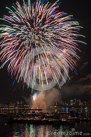 Fuochi d artificio del 4 luglio