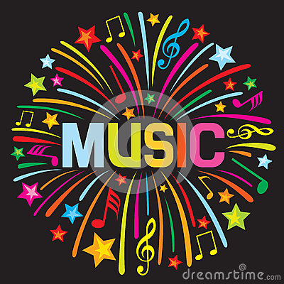 Fuoco d artificio di musica