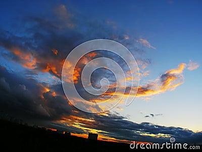 Fuoco nel cielo