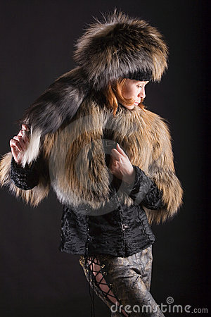 Fur in the dark