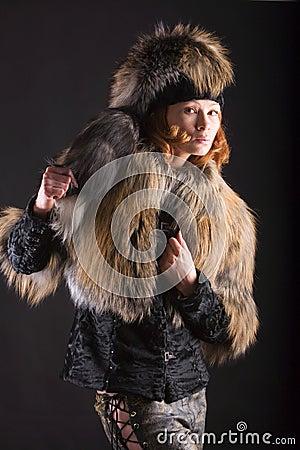 Fur in the dark