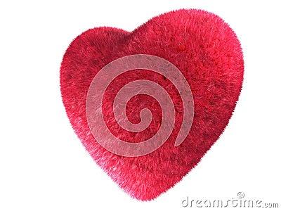 Fur heart
